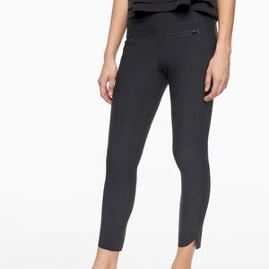 Athleta Stellar Crop Pants Black